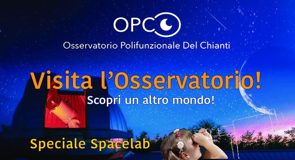 VISITA GUIDATA - SPECIALE SPACELAB @ Osservatorio Polifunzionale del Chianti